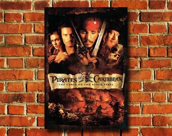 Disney Pirates Of The Caribbean Movie Poster - #0749