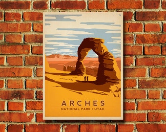 Arches National Park Poster - #0081