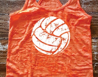 Volleyball - burnout tank