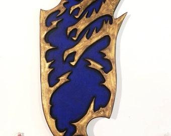Dragon shield cosplay prop