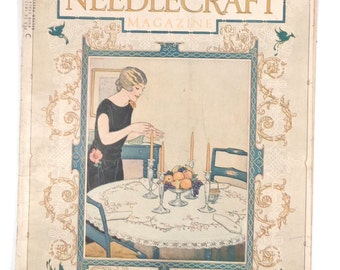 November 1925 NEEDLECRAFT Magazine 32 Pages