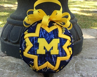 University of Michigan Wolverine ornament