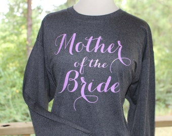 Mother of the Bride Long Sleeve T