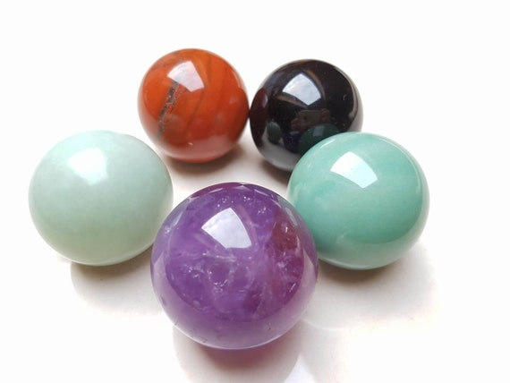 Crystal Ben Wa Balls For Pelvic Floor Activation And Increased