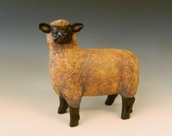 Hampshire Sheep Sculpture