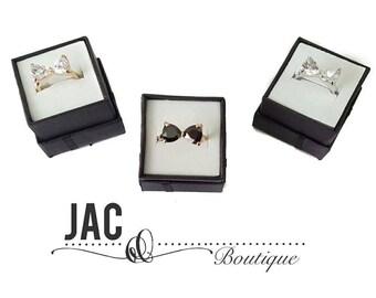 Jasmine Big Bow Ring