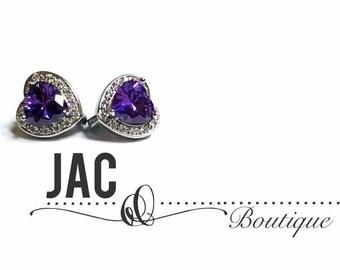 The Heart Stone - earrings