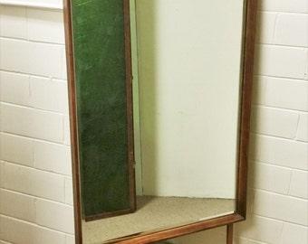 Mid Century Modern Kent Coffey Dresser Mirror Perspecta Walnut Rosewood Vintage