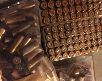 250 spent used empty .357 magnum bullet shell casings