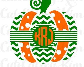 Fall svg, Fall dxf, Fall jpg, pumpkin svg, pumpkin dxf, pumpkin jpg, Fall monogram, Pumpkin monogram, cricut file, silhouette file, cutting