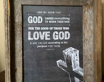 His Purpose Print