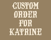Custom Order for Katrine - Joy Clear Stamps Sending Post