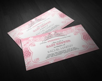 Baby Shower Princess Invitation | Special Occasion | Invitation | Custom Invitation | Digital | Invite | Personal Design | Event Invitation