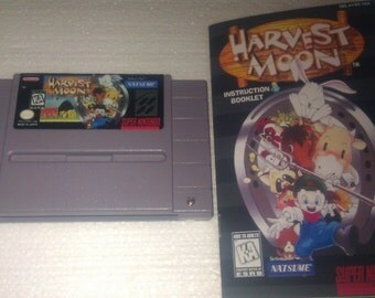 Harvest Moon - Reproduction SNES (NTSC-US)