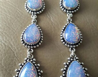 Opal Earrings(created)!