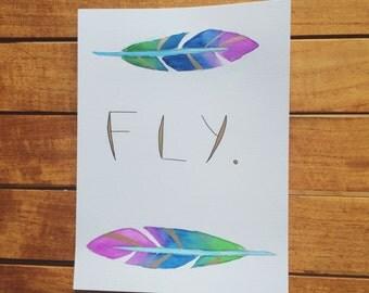 Fly Original Piece 6x8