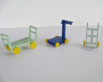 Marx Toy Train Station Accessories