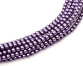 MP-Orchid Czech Mini Pearls 2mm #75452