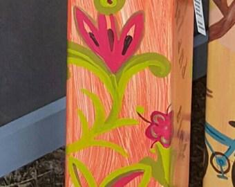 "Island Time - ""Peace Pole""/Garden Art Post"