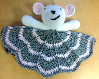 Crochet Mouse Lovey
