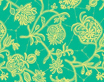 SALE 1 yard - Amy Butler Lark Souvenir in Mineral Fabric