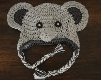 Jati the Elephant Crochet Hat