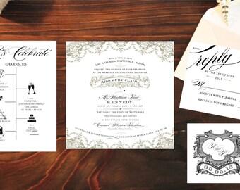 Florentine Wedding Invitation