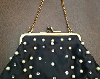 Black small cluch vintage