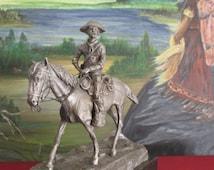 Worcester Pewter ( sergeant 7 th cavalry) Soldat de plomb
