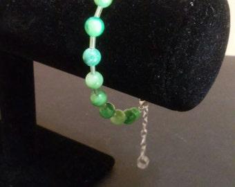 Green Pea Bracelet