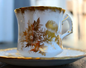 Hammersley & Co Bone china tea cup and saucer