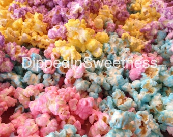 Any colour chocolate covered popcorn - 1 dozen bags