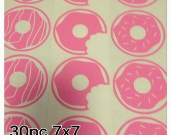 Donuts wall decals