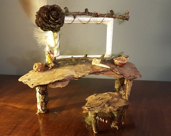 Through the looking glass - faerie dressing table