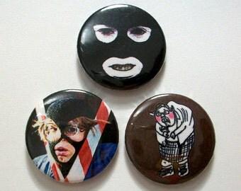 League of Getlemen Pin Button Badges