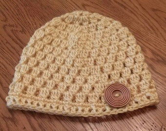 Teen shell beanie. Teen shell hat.
