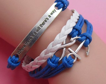Personalized silver plated bracelet