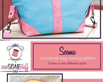 SEEMA Crossbody Bag Sewing Pattern ONLY