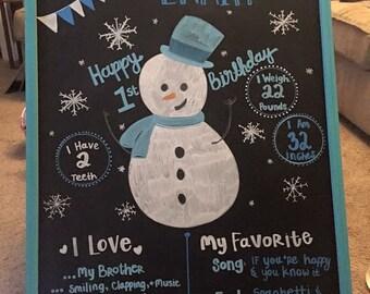Birthday & Wedding Chalkboards