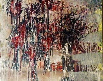 Pictorial exaltation 1 - abstract painting