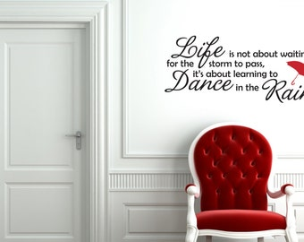Dance in the Rain Decal