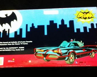 Adam West Batman bendable figurines TV show vintage style,includes, batman ,Joker, Catwoman, Penguin,Robin, DC comics