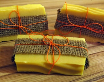GOAT MILK SOAP with a hint of lemongrass