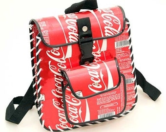 Recycled Tin Can Ruck Sack (Pepsi, Coca Cola, Diet Coke, Schweppes, Heineken, Tiger Beer) Soda can / Pop can