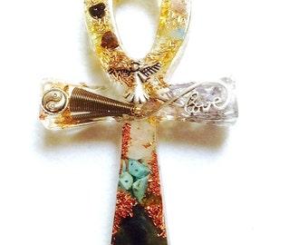 Orgonite cross Egyptian Ankh (ORG32)