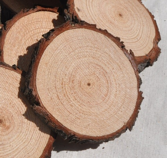 20 wood slices 6 8 cm rough cut wood rounds with rough for How to cut wood slices