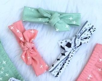 Organic Cotton Baby Headbands