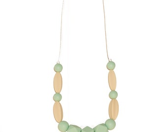 BiteBaby Baby Teether Necklace - Tiana
