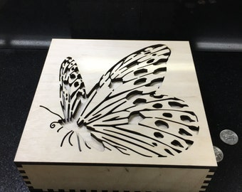 Butterfly designed box 2