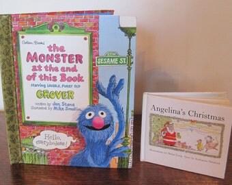2 Vintage Children's Books, Children's Books, Set of 2 Books